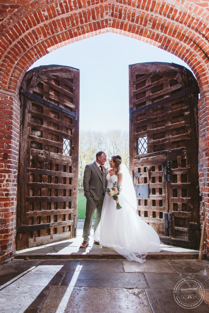 Another amazing doorway photograph at Leez Priory