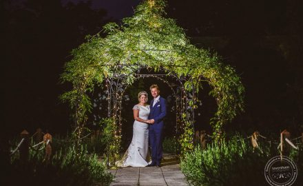 Creative lighting techniques for night wedding photography