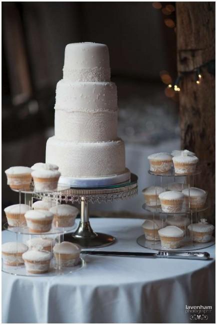 Wedding cake at Smeetham Hall