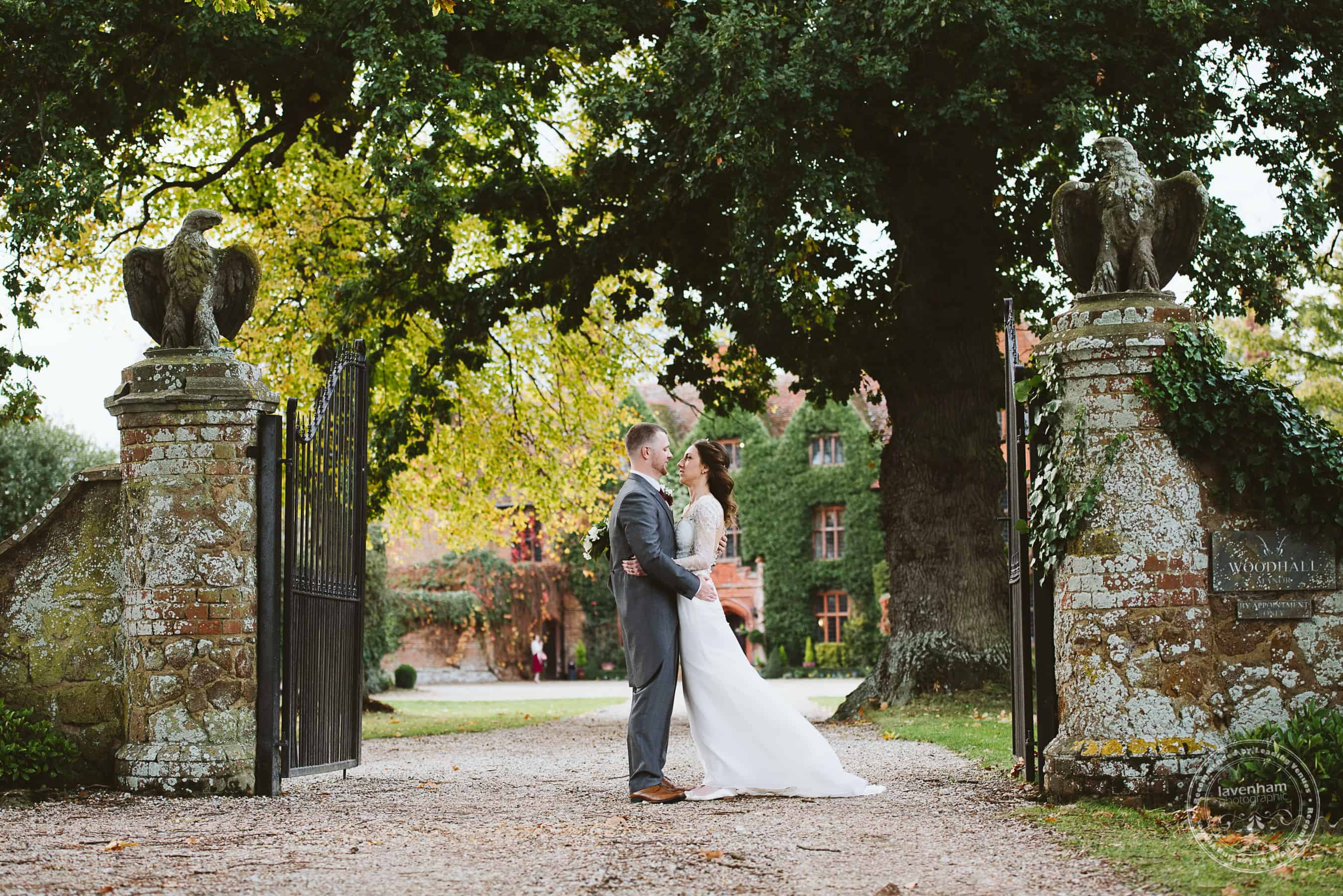 041118 Woodhall Manor Wedding Photography by Lavenham Photographic 097