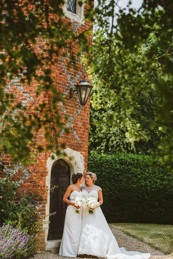The brides at Leez Priory's Tower