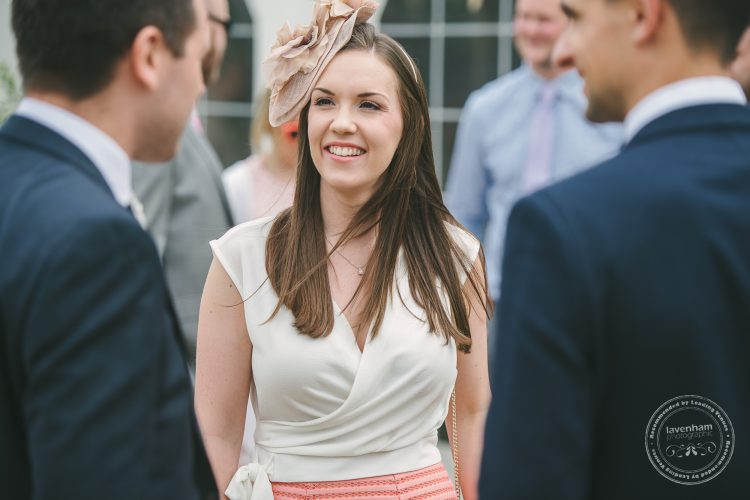 Photography of Guests arriving for Preston Priory Barn wedding