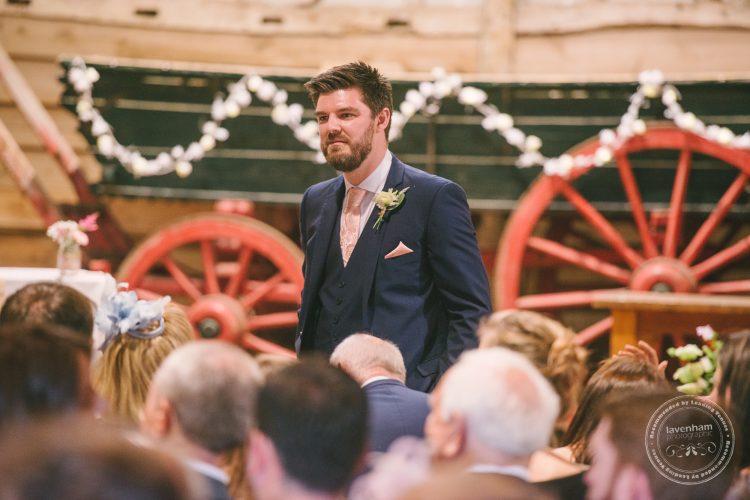 Best Man before wedding ceremony