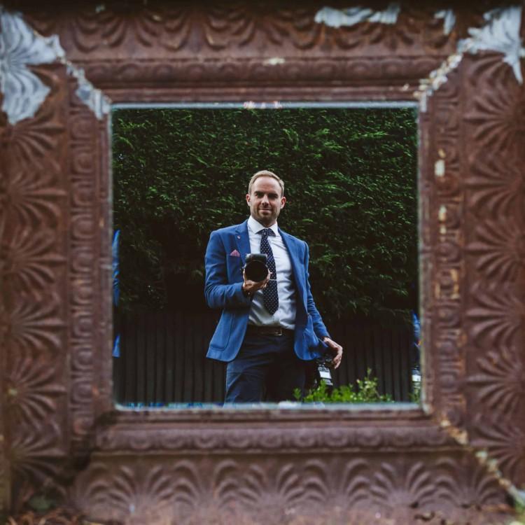 Self Portrait of Ben Brown, photographer for Lavenham Photographic