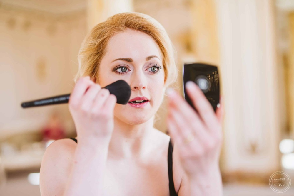 Photography of the bride's preparations