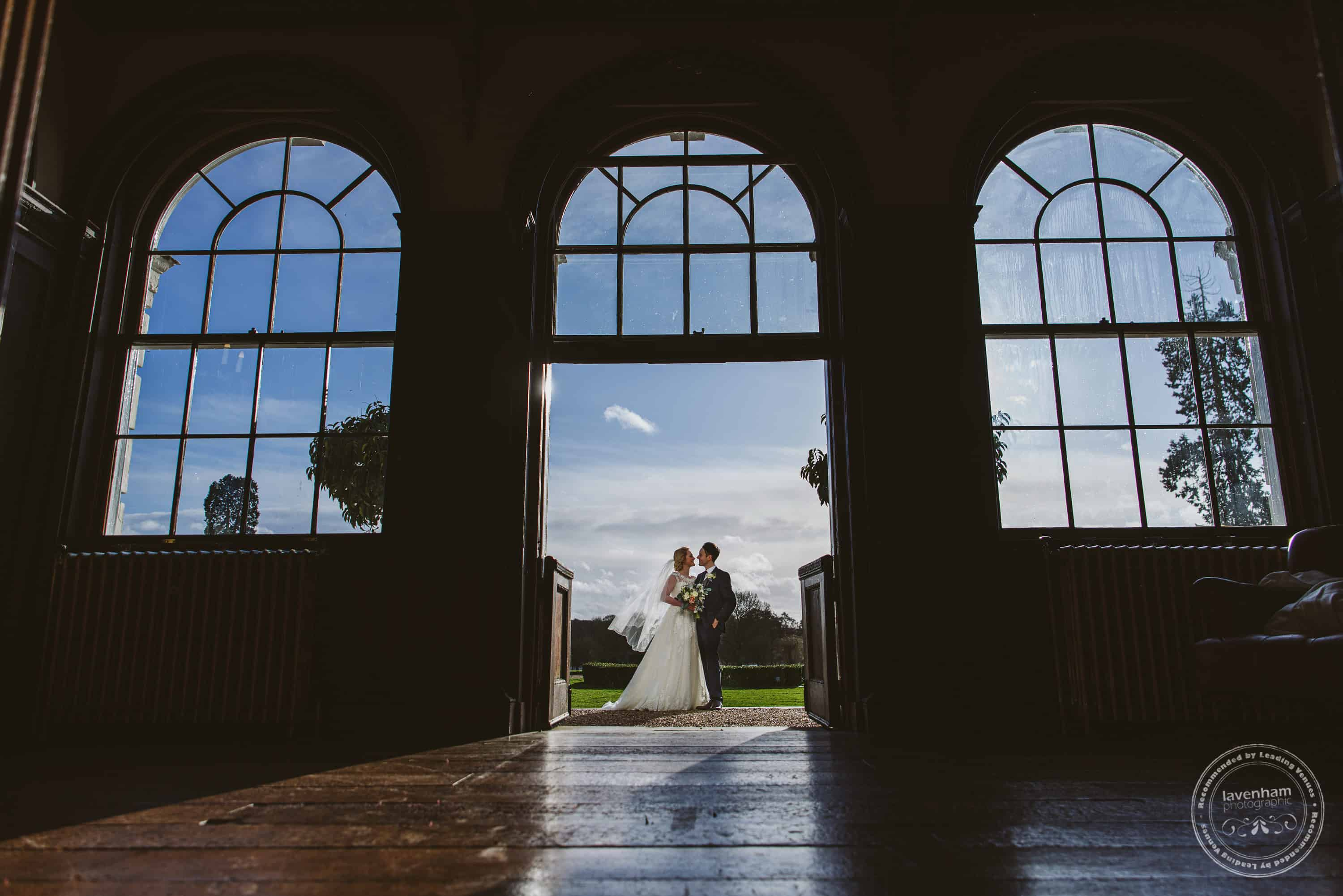 Framing a photograph in a doorway of arched window is always effective! Even better with three arches!