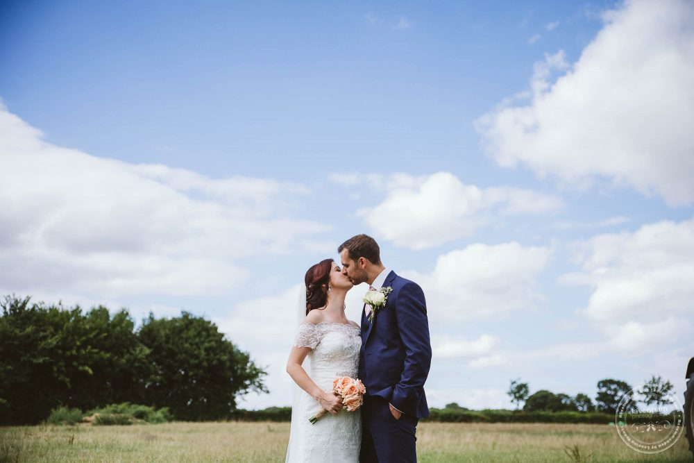 Open fields and large skies make for wonderful wedding photographs at Suffolk Weddings