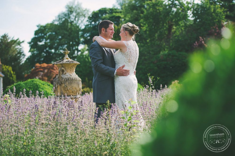 The lavender in the gardens made for extremely striking and summery photography