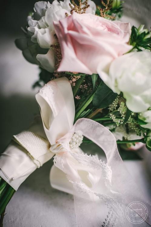 Detail of wedding bouquet