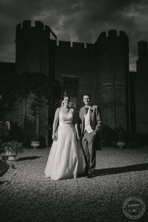 Night Time Wedding Photography at Leez Priory, Essex