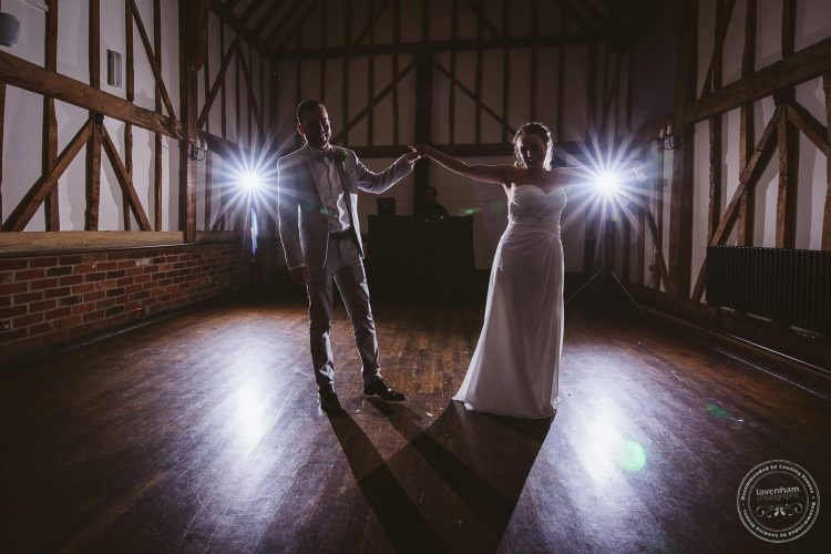 The first dance at Channels Wedding