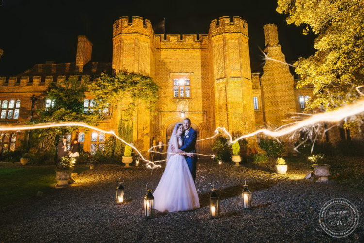 Sparklers Light Trail, Leez Priory This photo is quite complex to set up, it takes a ten second exposure, three flashes off-camera, and several takes! But when it works it looks awesome!