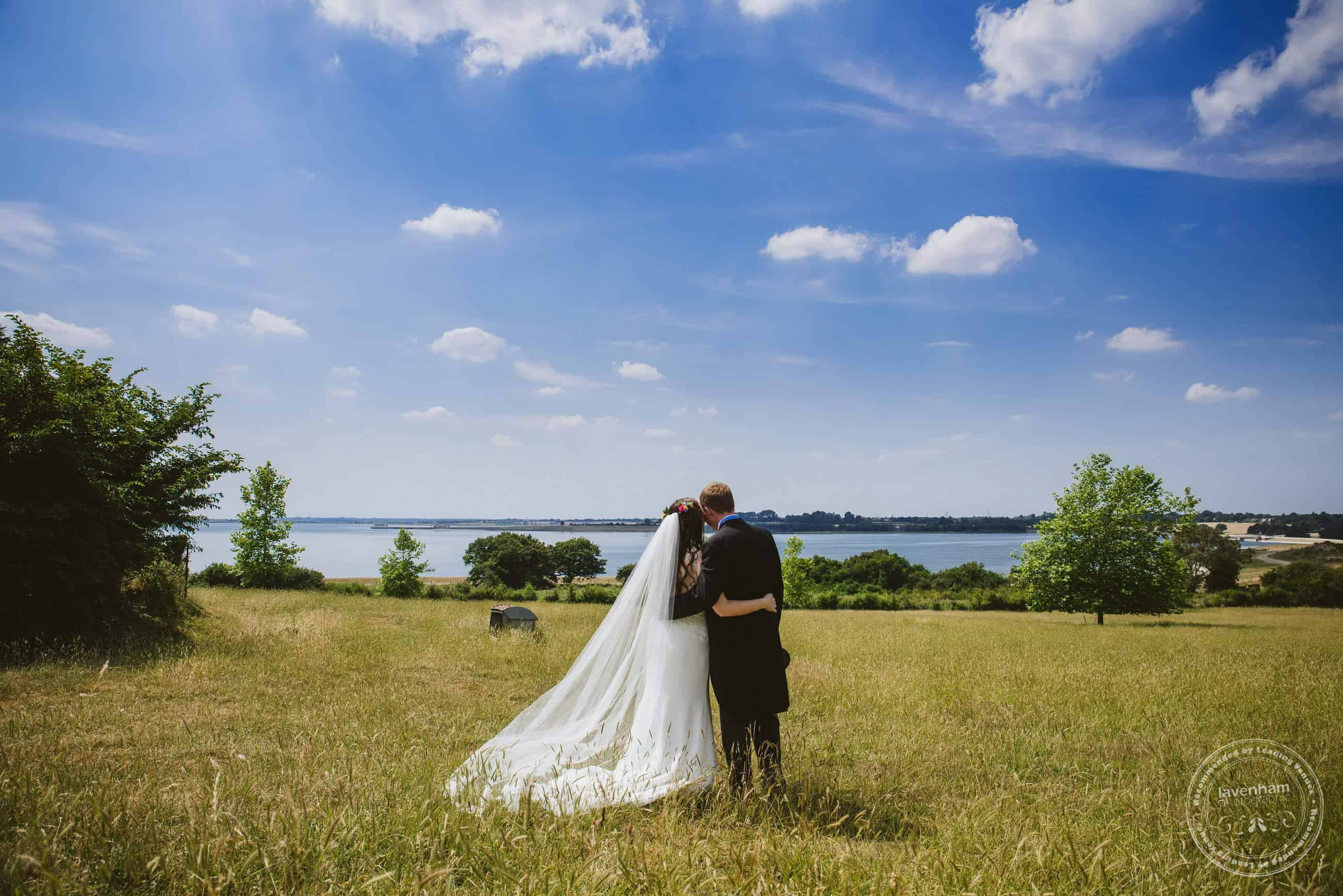 Great blue sky, meadow and lake. This photo really has a relaxed, timeless feel to it!
