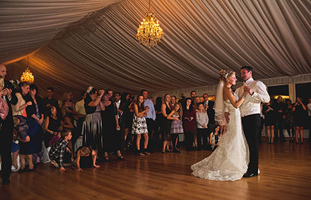 Album and USB-Only Wedding Photography Packages - photo of Bride and Groom's First dance