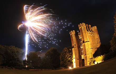 Platinum All-Inclusive wedding photography package - photo of fireworks over venue